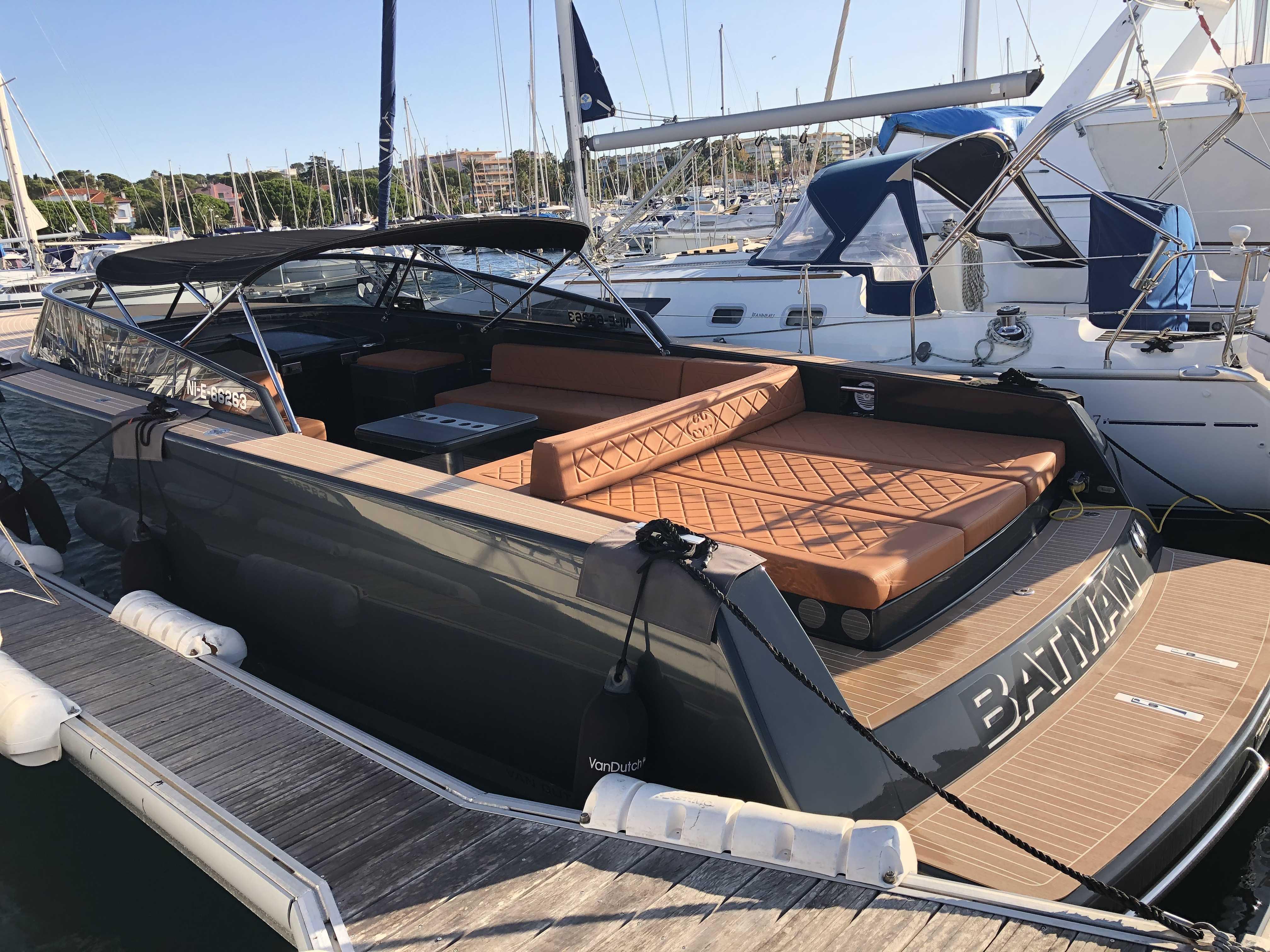 location bateau VAN DUTCH 40